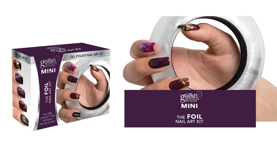 Gelish MINI Foil Nail Art Kit