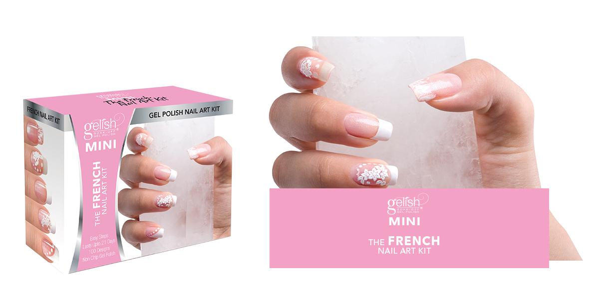 Gelish MINI French Nail Art Kit